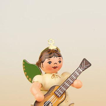 Engel mit Konzertgitarre 6,5 cm